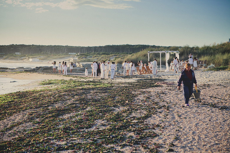 Beach ceremony at Playa VIK, Jose Ignacio, Punta del Este, Uruguay
