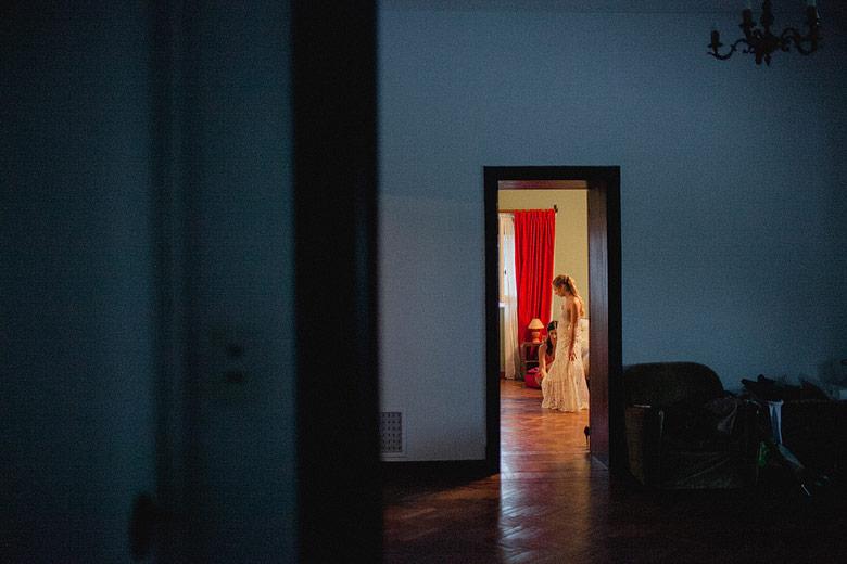 Fotografía artística de casamiento