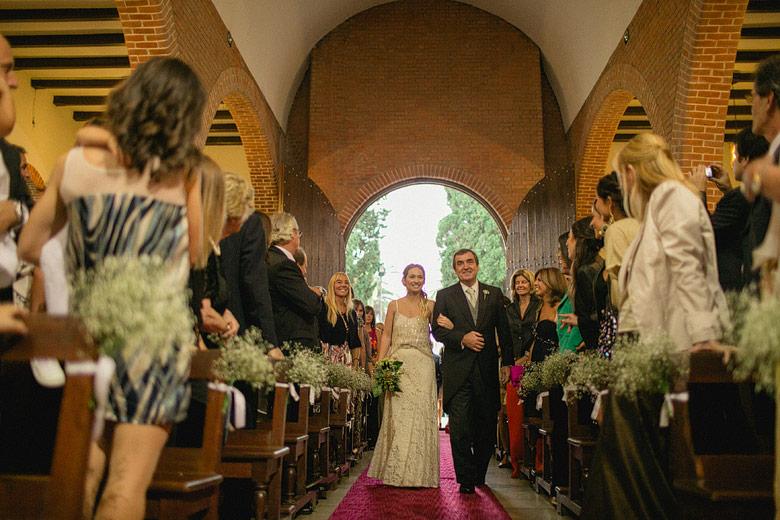 Casamiento en Iglesia de Jauregui
